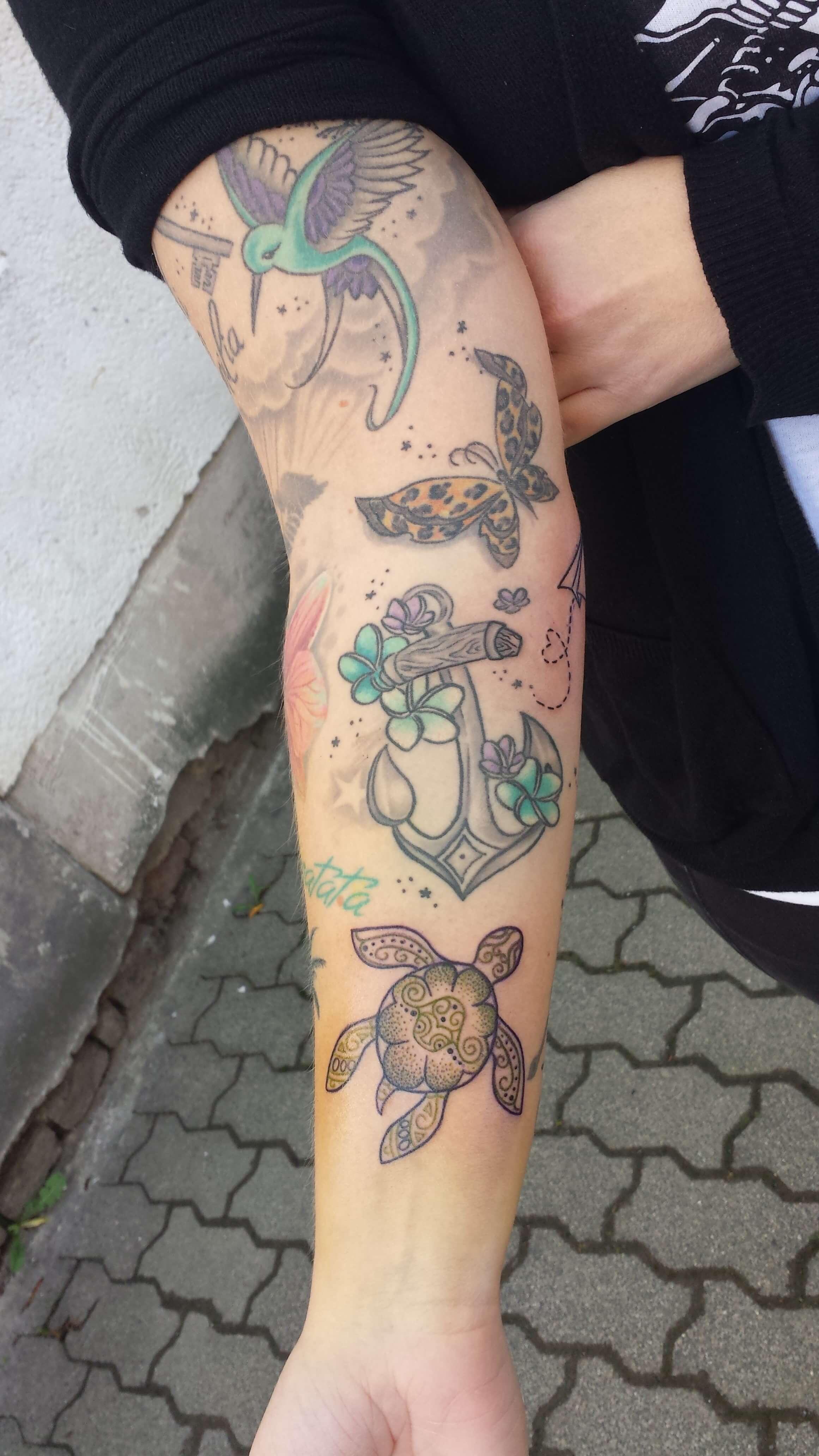 tattoo anker frau mi nuevo tatuaje tattoo bow anchor moo. Black Bedroom Furniture Sets. Home Design Ideas