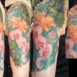 tattoo-vogel-blume