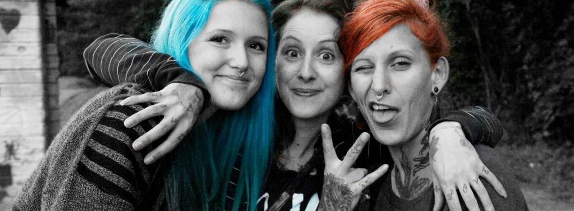 Dany, Linn, Sophie